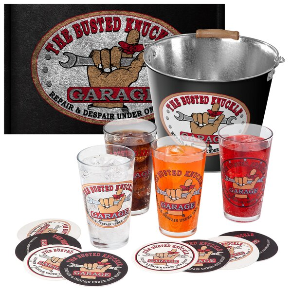 14 Piece Party Bucket Set by Busted Knuckle Garage