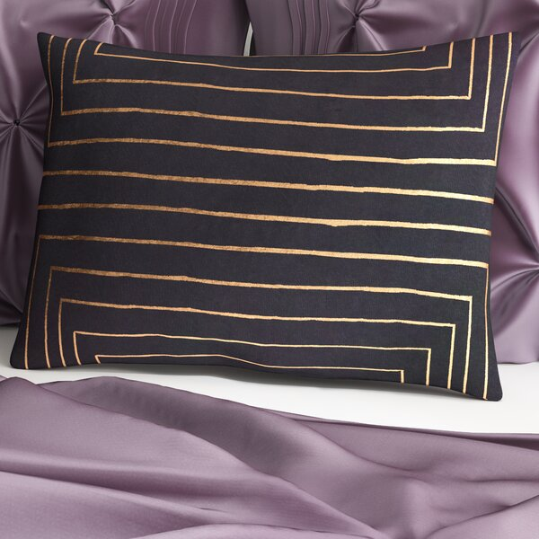 Steele Rectangular Cotton Lumbar Pillow by Willa Arlo Interiors