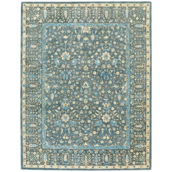 Smyrna Hand-Tufted Blue Area Rug by Capel Rugs