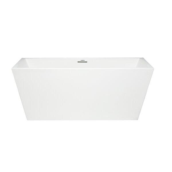 Glacion 62 x 30 Freestanding Soaking Bathtub by Americh