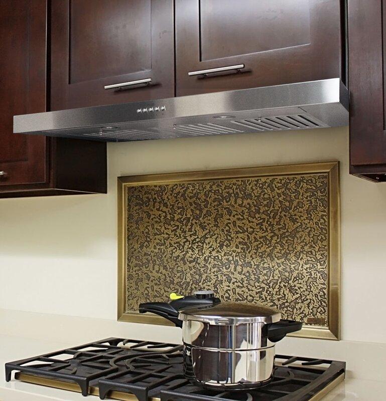 Kobe range hoods 36 brillia 750 cfm ducted under cabinet for Wayfair kitchen cabinets