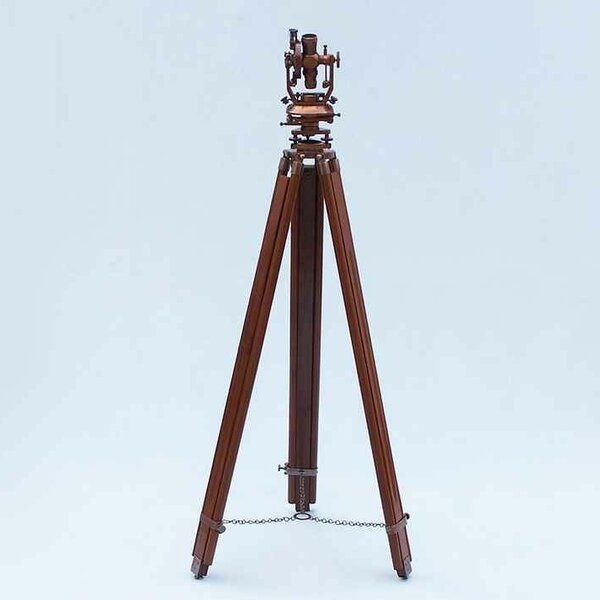 Decorative Theodolite by Handcrafted Nautical Deco