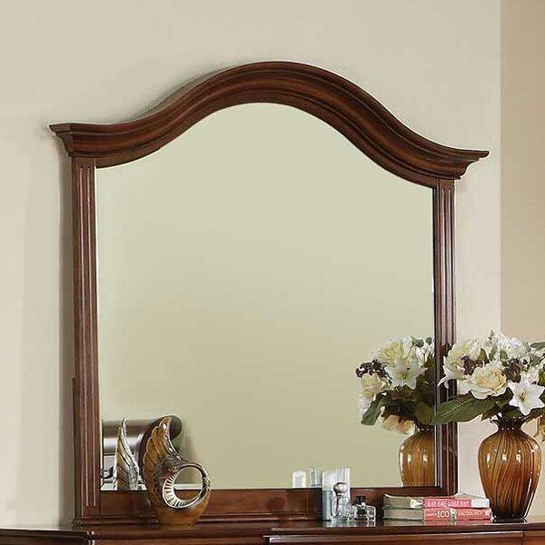 Riegel Crown Top Dresser Mirror by Darby Home Co