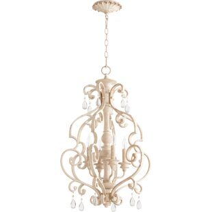Clearance Miley 4-Light Chandelier By Ophelia & Co.