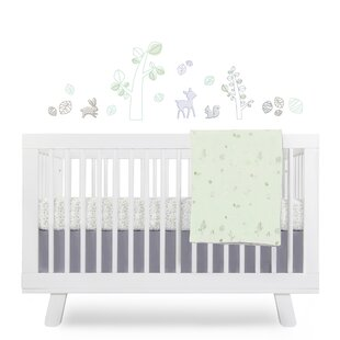 Guide to buy Tranquil Woods Fitted Crib Sheet Bybabyletto