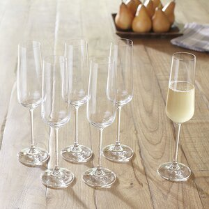 Downing Champagne Flutes (Set of 6)