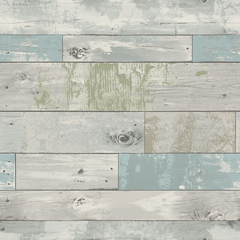 Wallpops Beachwood Peel And Stick Wallpaper Roll