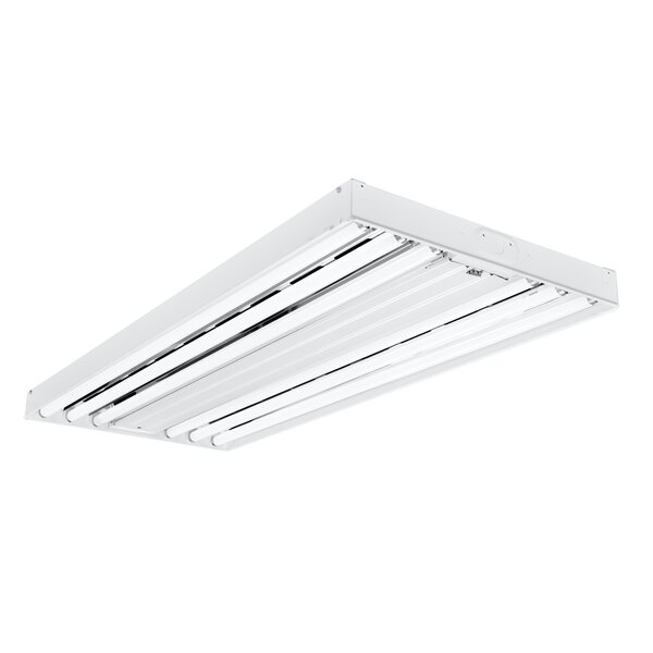 4-Light 54-Watt Fluorescent High Bay by Cooper Lighting