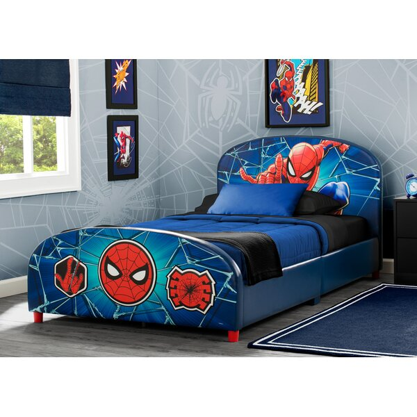 Marvel Spider-Man Twin Platform Bed by Delta Children