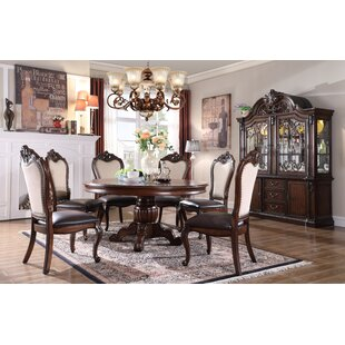 Lundberg 5 Piece Solid Wood Dining Set By Astoria Grand