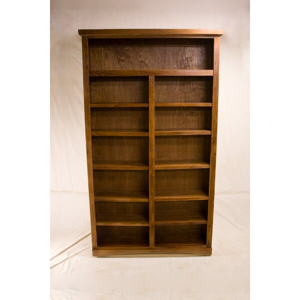 Cutright 2 Shelf Traditional Standard Bookcase by Darby Home Co