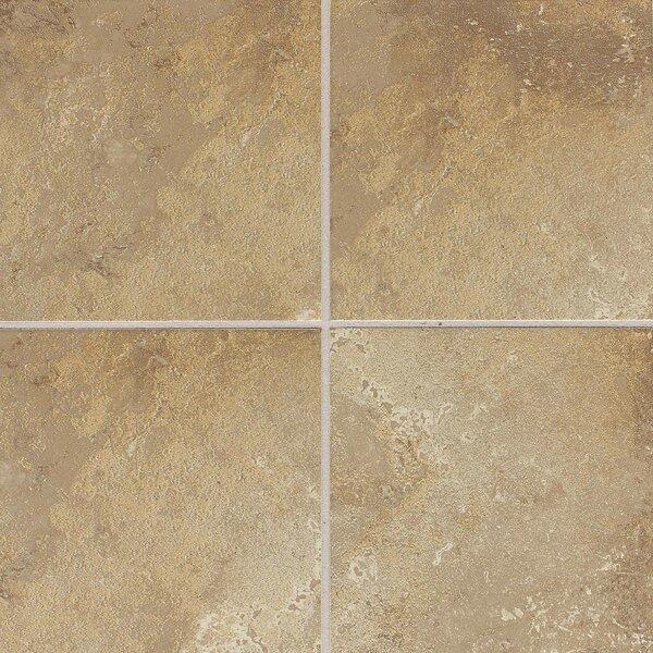 Huston 6 x 6 Ceramic Field Tile in Raffia Noce by Itona Tile