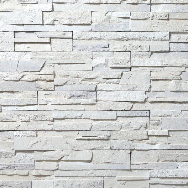 American Rockies 4 X 16 Concrete Composite Corner Piece Tile Trim in White by Emser Tile