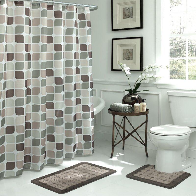 Delightful Swinford Geometric 15 Piece Bath Set