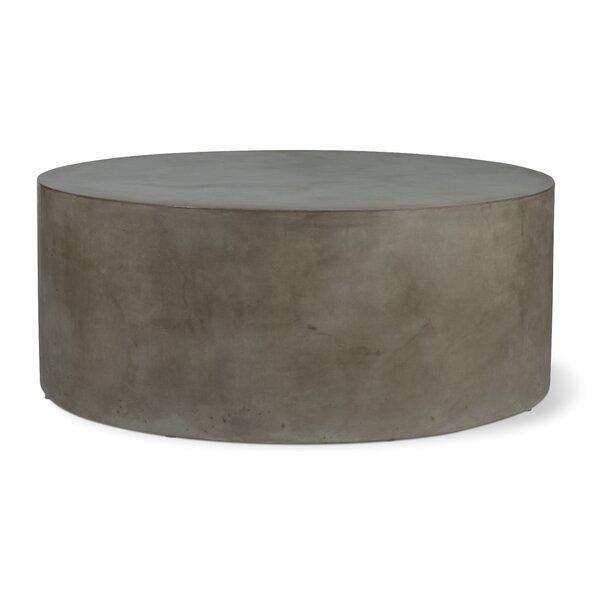 Perpetual Grand Louie Concrete Coffee Table by Seasonal Living
