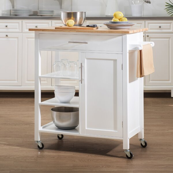 Wildman Kitchen Cart by Breakwater Bay