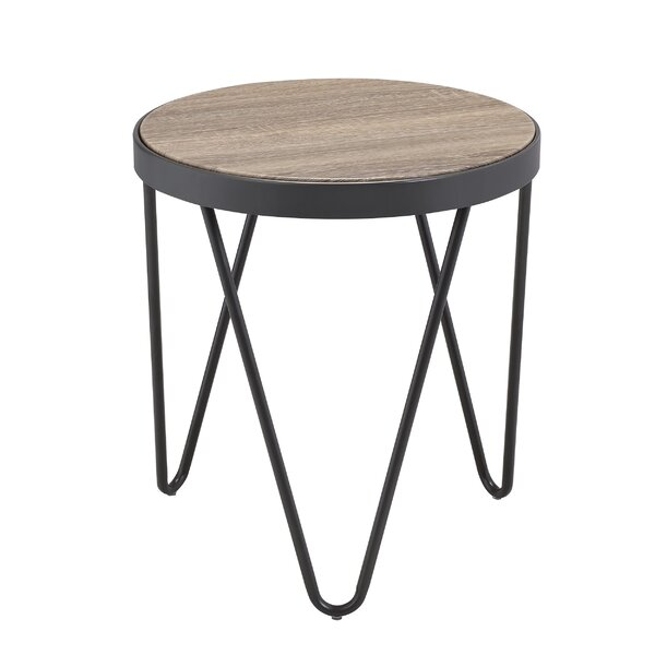 Hummel End Table by Wrought Studio