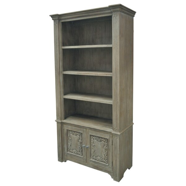 Ruggero Carved Standard Bookcase by One Allium Way