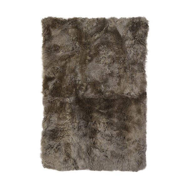 Christofor Sheepskin Longwool Natural Area Rug by Willa Arlo Interiors