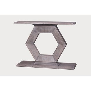 Find for Peltier Console Table By World Menagerie