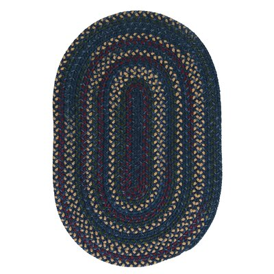 Shyla Wool Blue Area Rug August Grove Rug Size Round 9