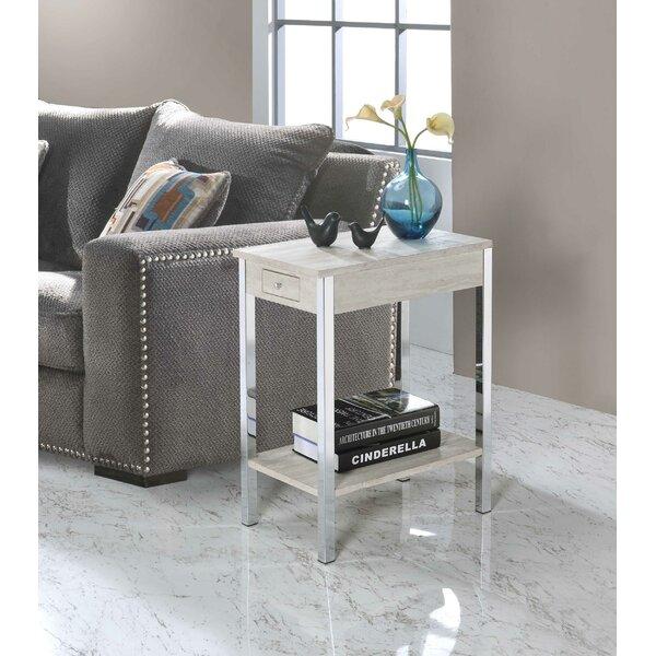 Byromville End Table With Storage By Orren Ellis