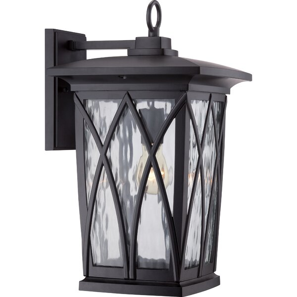 Stoneridge 1-Light Outdoor Wall Lantern by Darby Home Co