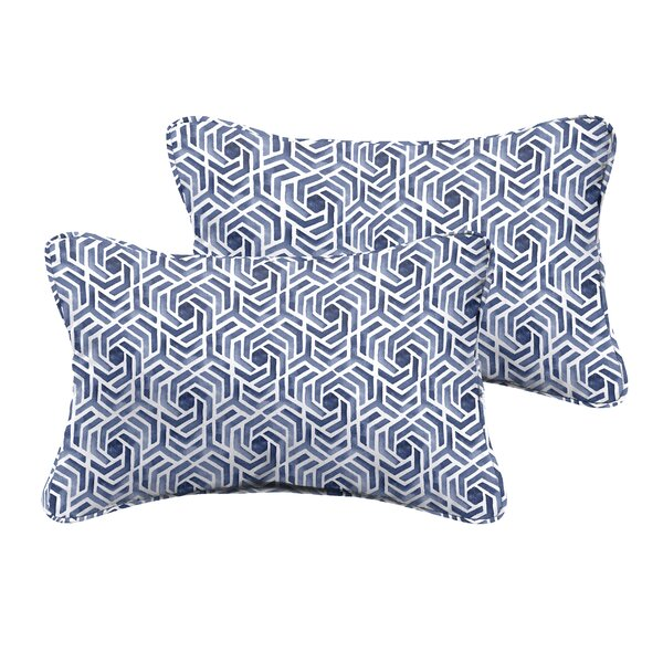 Breslin Indoor/Outdoor Throw Pillow (Set of 2) by Wrought Studio