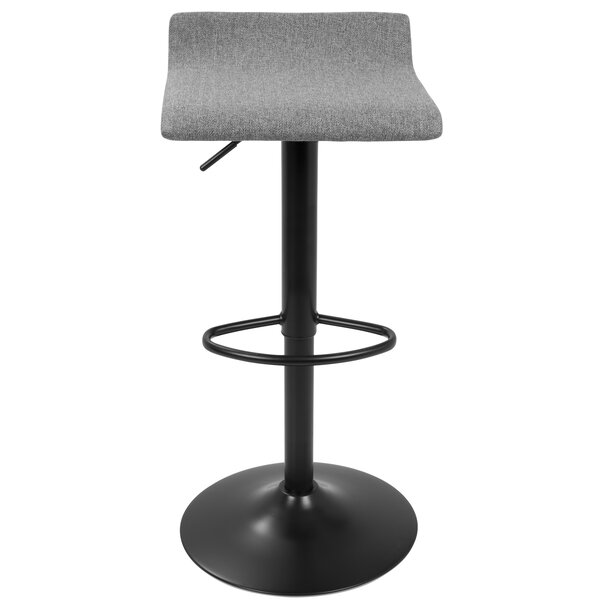 Fincastle Adjustable Height Bar Stool (Set of 2) by Wade Logan