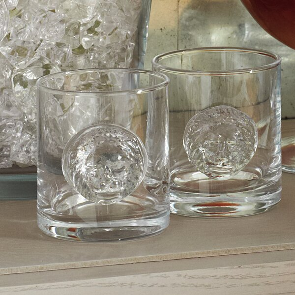 Leo Double Old Fashioned Glass by Global Views