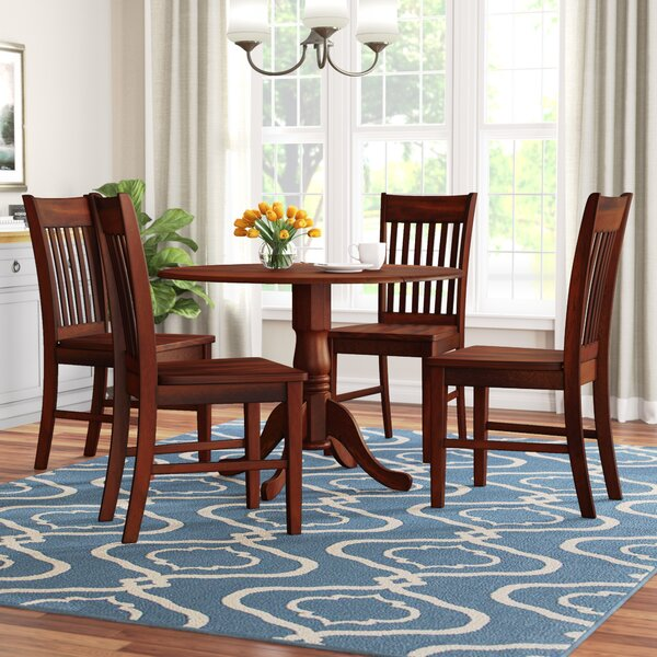 Spruill 5 Piece Drop Leaf Dining Set by August Grove