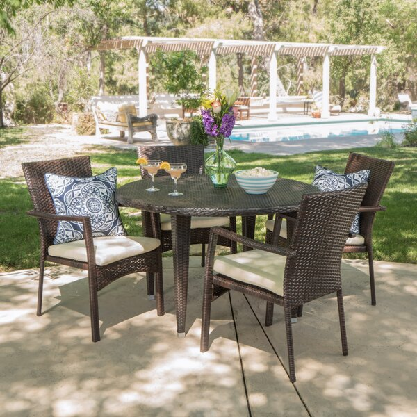Westmont 5 Piece Dining Set by Alcott Hill