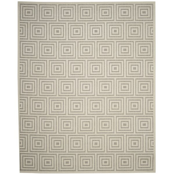 Candor Gray Outdoor Area Rug by George Oliver