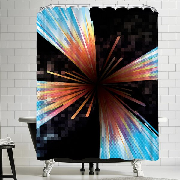 Joe Van Wetering Higgs Shower Curtain by East Urban Home