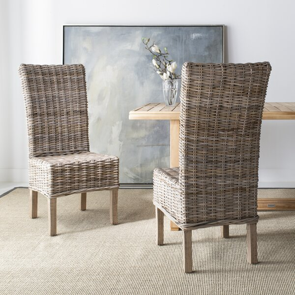 Nella Dining Chair (Set of 2) by Highland Dunes