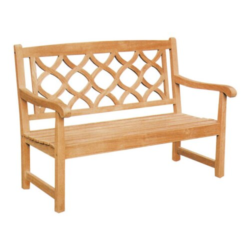 Bamburgh Teak Garden Bench by Darby Home Co Darby Home Co
