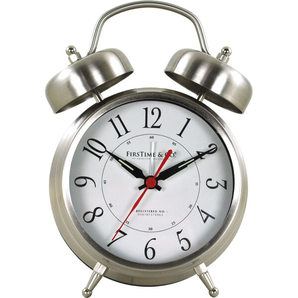 Twin Bell Tabletop Clock by FirsTime