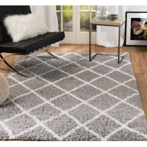 supreme shag gray area rug