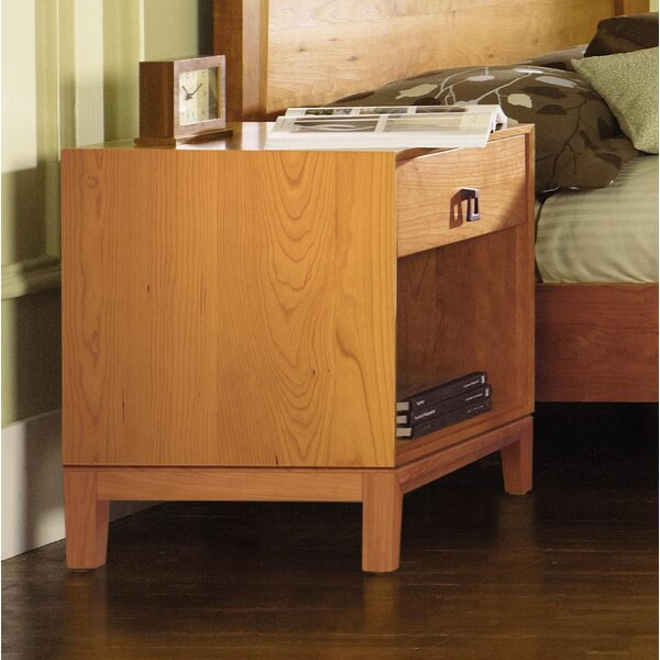 Mansfield 1 Drawer Nightstand by Copeland Furniture Copeland Furniture