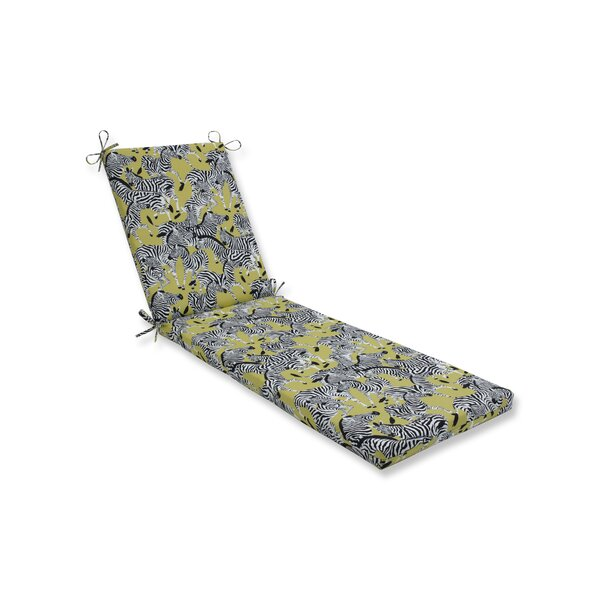 Wasabi Indoor/Outdoor Chaise Lounge Cushion by Bloomsbury Market