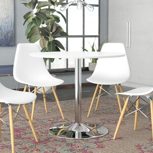 Reviews Ember Metal Base Dining Table By Zipcode Design