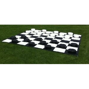Giant Outdoor Checkers Game