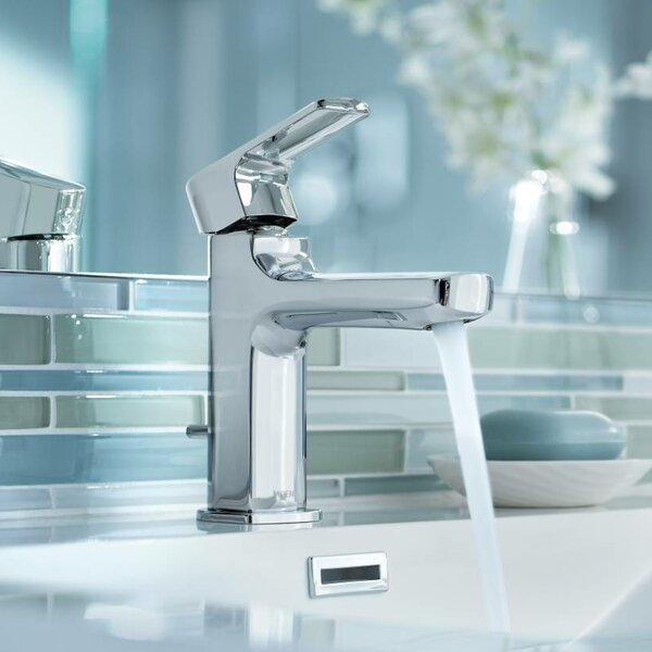 Rizon Low Arc Bathroom Faucet by Moen