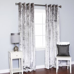 Dark Gray Velvet Curtains