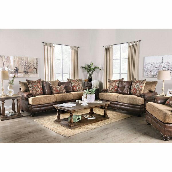 Whitney 3 Piece Living Room Set By Loon Peak
