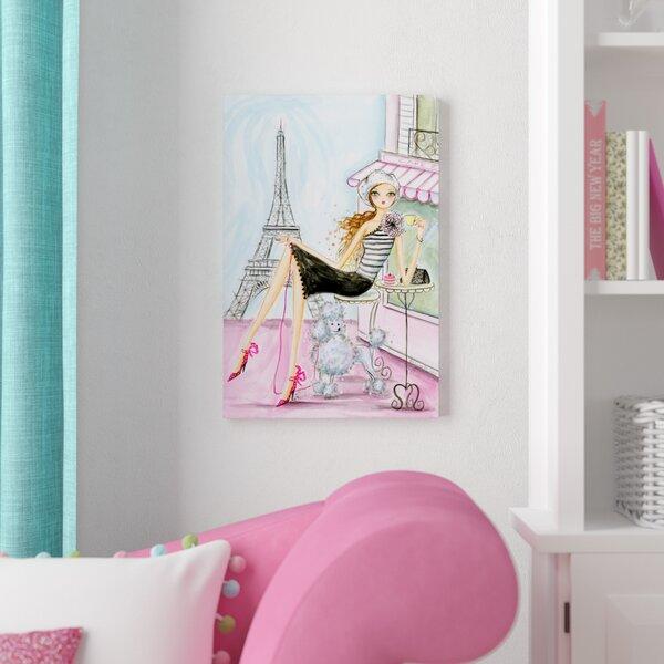 Honey World Traveler Paris Canvas Art by East Urban Home