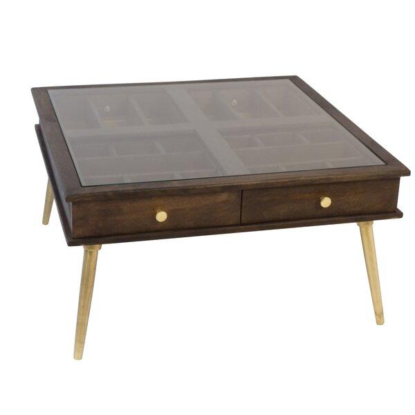 Lafe Coffee Table with Storage by Corrigan Studio Corrigan Studio