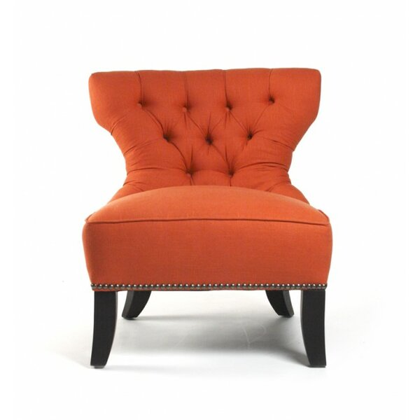 Dowsett Paprika Side Chair by Canora Grey