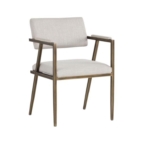 Irongate Ventouz Upholstered Armchair by Sunpan Modern