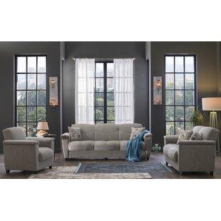 Holweg 2 Piece Sleeper Living Room Set by Red Barrel Studio®